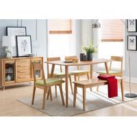 Cheap Commercial Dining Room Oak Solid Wood Bench Practical Environment - Friendly for sale