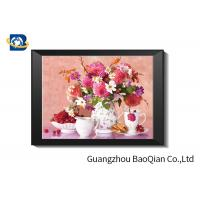 Cheap Eco - friendly Flowers 3D Lenticular Pictures For Home Decoration A3 A4 Size for sale