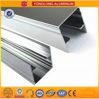 Cheap Machinery Polished Aluminium Profile Silver White High Surface Brightness for sale