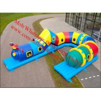 Cheap Inflatable caterpillar obstacle course for sale