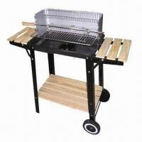 Quality Forest Charcoal BBQ Grill/Forest Trolley Charcoal Grill with Powder Coated wholesale