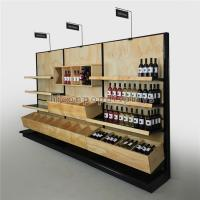 Cheap Commercial Wine Display Racks And Liquor Shelving For Wine Stores / Shops for sale