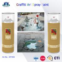 Cheap 400ml Canned Environmental Fast Drying Graffiti Spray Art Paint for Artist On Metal Wood for sale