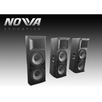 Cheap Powered Conference Hall Sound System 37 Hz-20 KHz With Birch Plywood for sale