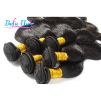 Cheap Grade 7a Natural Black Body Wave Brazilian Virgin Human Hair For Women for sale