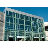 Cheap Wind Pressure Aluminium Alloy Curtain Wall With Low-E Glaess For Large Building for sale