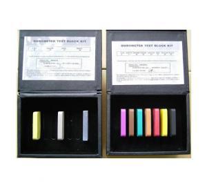 54 Mm X 54 Mm X 8 Mm Universal Hardness Tester Block Kit For Different Durometer Gauge