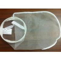"Cheap PE / PA / Nylon Filter Mesh Industrial Filter Bag Woven / Nonwoven Fabric 7"" * 18"" for sale"