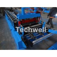 Cheap 0.8-1.5mm Thickness Cold Roll Forming Machine For Making Traverse Machine With Motor 11KW for sale