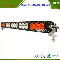 Cheap 27.2 inch 150W CREE LED light bar single row in optional spot/flood/combo beam type for sale