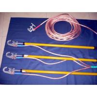 China Grounding Wire Construction Safety Tools With Grounding Pole / Clip Set on sale