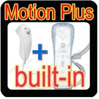 China For Wii remote and Nunchuck controller with Built-in Motion plus on sale