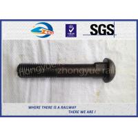 Cheap Q235 40Cr HS26 / HS32 Railway Bolt Track Bolts With Bitumen / Dacromet for sale