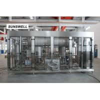 Buy cheap CSD beverage making machine with 16C filling technology for big capacity sparkling water manufacturing from wholesalers