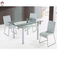 cheap glass dining table set T064