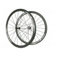 Buy cheap BIKEDOC Carbon Fiber Wheel White Color 38MM 700C EN Standard 700C For Race from wholesalers