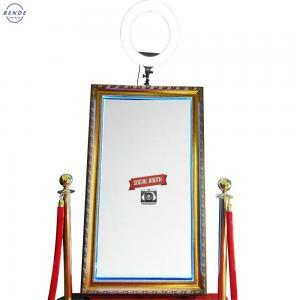 China Light box photo booth magic mirror modern popular party bar magic mirror photo booth on sale