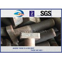 Quality Customized M22X90mm Railway Bolt T-Shaped Track Bolts With Oiled Plain Colors wholesale