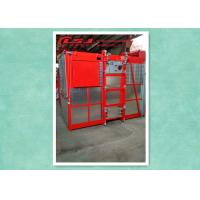 Cheap High Efficiency Rack And Pinion Elevator Hoist With Anti-Fall Safety Device wholesale