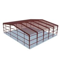 Cheap Industrial Construction Warehouse Steel Structure Factory Long Span Life for sale