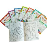 Cheap Children Coloring Book Personalised Stationery Gifts A4 / A5 Size Matt Lamination for sale