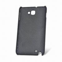 China Rubberized Mesh Net Back Case for Samsung i9220 Galaxy Note N7000, Various Colors are Available on sale