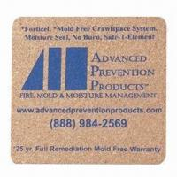 Cheap Plastic coaster, customized sizes, shapes and logos are accepted for sale