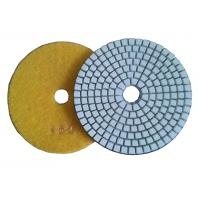 China 3 Step Dry Diamond Polishing Pads For Concrete / Marble Floor on sale