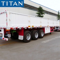 Cheap 40ft Flatbed Semi Trailer Equipment with Side Walls for Sale in Mauritania for sale