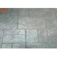China Residential Squares Pre - Mixed Color Hardener For Stamped Concrete With Silica Sand on sale