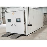 China Programmable Constant Temperature Humidity Walk - In Test Chamber Customized on sale