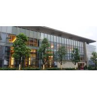 Cheap 10MM Double Aluminium Glass Curtain Wall Reflective  For Office Building for sale