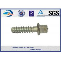 Cheap ASTM Standard Hot Dip Galvanized Railway Sleeper Fixing Screws / Rail Road Spikes for sale