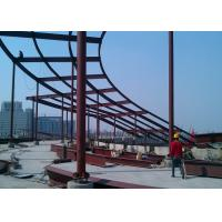 Cheap High rise building top decoration steel  structure construction for sale