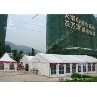 Cheap Transparent PVC Fabric Windows Hanging Ripples Outdoor Event Tent wholesale