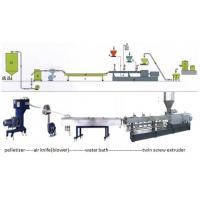 China Recycle PA / PE / PP / ABS Plastic Granulating Machine , Granules Extruder on sale
