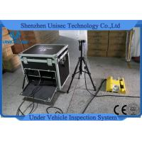 Cheap Mobile Type UISS Under Vehicle Inspection System Dynamic Imaging For Anti Terrorism wholesale