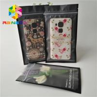 China Customized Plastic Pouches Packaging 1.6 x 8cm For Mobile Cable 3 sides sealed bag for snack fruit noni bag on sale