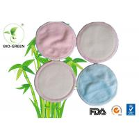 Cheap Round Organic Bamboo Breast Pads Absorb Microfiber Materials Founded for sale