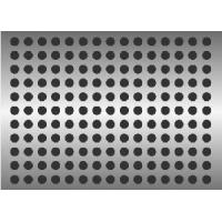 Cheap Aluminum Perforated Metal Sheet for sale