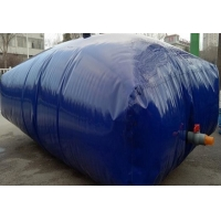 Cheap Tear Resistant Pillow 0.7mm PVC Tarpaulin Water Storage Bladder Tank for sale