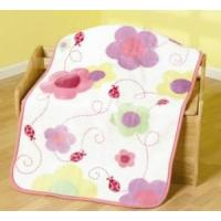 Cheap Personalised Baby Blankets - Ladybird for sale