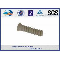 Cheap SDU35 HDPE Dowel Plastic And Rubber Part Used In W14 Rail Fastening System for sale