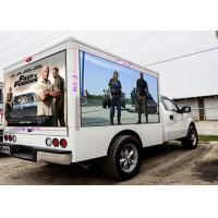 Cheap P10 Truck Vehicle Mobile LED Screen For Shows / Advertising Long Life Span for sale