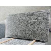 China Construction material Natural stone Factory Supplier Sea Wave White Granite Polished Stairs and steps on sale
