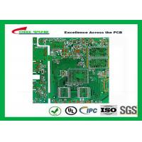 Cheap PCB Fabrication 6L OSP Electronic PWB with Impedance Control 1.6mm for sale