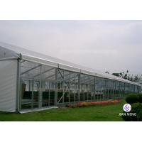 Buy cheap White Alloy Outdoor Aluminum Frame Tent 10X15m 10X20m DIN 4102 B1 from wholesalers