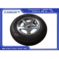 China Aluminum Golf Cart Rims And Tires , Club Car Golf Buggy Parts Standard Size on sale