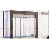 Cheap Brown Door Frame Commercial Automatic Sliding Doors With Maintenance Free Motor for sale