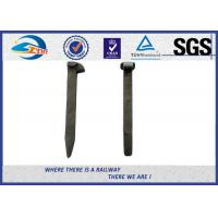 Cheap High Hardness Railroad Track Spikes / Rail Hardware ISO898-1 for sale